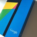 Nexus 7を買いました。Nexus 7レビュー(の前置き)