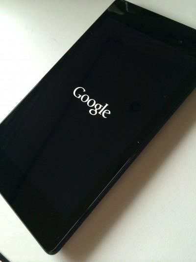 Nexus 7起動