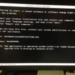 SSD換装したらWindows起動せず! 0xc000000eのエラーに対処