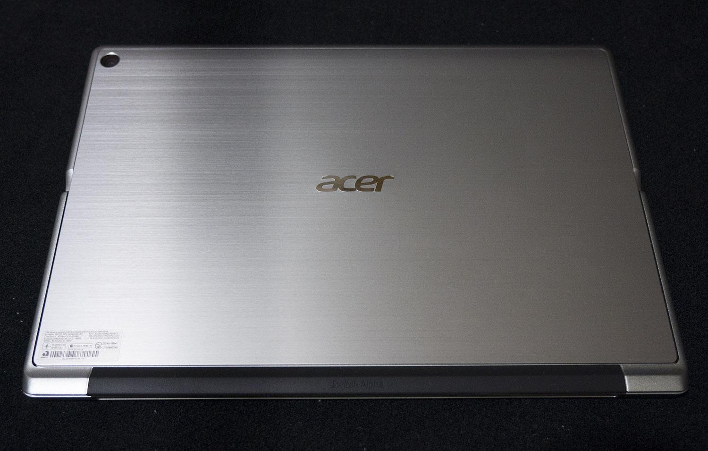 (海外版は)優れたコスパ! Acer Switch Alpha 12 レビュー